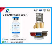 Buy cheap GMP Standard Peptide TB500/TB-500 For Muscle Building Thymosin Beta-4 CAS 75591-33-4 For Ablative Rejuvenation from wholesalers
