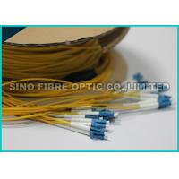 Buy cheap 0.9MM LC Duplex Round Ribbon Fiber Cable Single Mode Pre Terminated from wholesalers