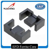 Buy cheap Low Profit Surface Soft Magnetic Materials EFD Ferrite Core High Permeability from wholesalers