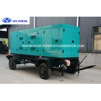 Buy cheap Standby Output 500kVA Cummins Diesel Generator With Trailer and Soundproof , KTA19-G3 product
