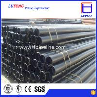 Large diameter thick wall lsaw welded steel pipe stainless