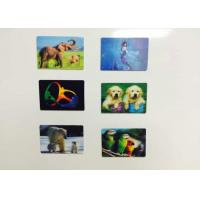 Buy cheap Full Color Printing 3D Fridge Magnets PP / PET Lenticular With Flip Effect from wholesalers