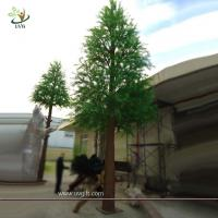 Buy cheap UVG Base station tree engineering green pine artificial tree tower for outdoor decoration from wholesalers