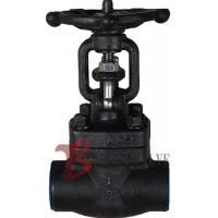 Buy cheap Metellic Seat Forged Steel Valves , Forged Carbon Steel Gate Valve from wholesalers
