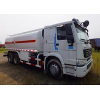 6x4 12000L Gasline Diesel Mobile Refueling Truck / Refuel Oil Tanker Truck