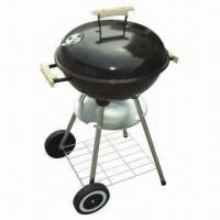 Buy cheap Stainless Steel/Buy BBQ Grill Large Kettle BBQ, 44.5 x 12.7cm, 0.4mm Lid from wholesalers