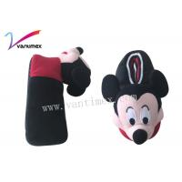 Buy cheap Flat mickey plush slip resistant cute kids slippers at home from wholesalers