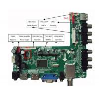 Buy cheap Digital signage solution , TV board with Single / Dual Channel LVDS from wholesalers