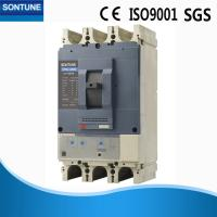 Buy cheap Battery Powered Plastic MCCB Circuit Breaker , CE Credential 4 Pole MCCB product
