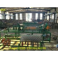 Buy cheap 2m to 4m wdth double wire feeding Chain Link Fence Weaving Machine from wholesalers