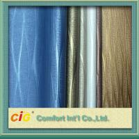 Buy cheap Waterproolf Metallic PVC Artificial Leather Fabric Material For Bags Upholstery / Car Seat from wholesalers