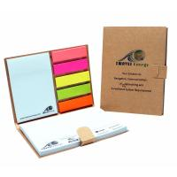 Buy cheap Advertising Note Pad Book Colorful Sticky Note Logo Customized from wholesalers