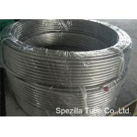 Buy cheap 1.4301 TP304 Drawn stainless steel flexible exhaust tubing Coiled Tubing Tig Welding 1.00 Thickness from wholesalers