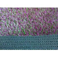 Buy cheap UV Resistant Balcony Artificial Grass 35mm Violet For Garden Decoration from wholesalers