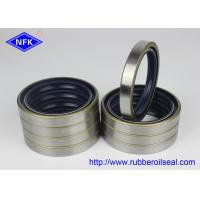 Buy cheap NBR Material Rubber Oil Seal , NOK Double Lip Oil Seal For High Temperature from wholesalers