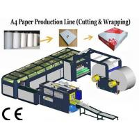 Buy cheap High Speed A4 Size Paper Cutting Machine With Servo Motor 16~18 Packs / min from wholesalers