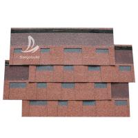 Buy cheap Thailand Projects Professional Roofing Materials Fiberglass Laminated 3 TAB roofing shingles tiles China from wholesalers