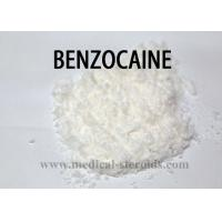 Buy cheap Pain Relieving Topical Anesthetic Drugs Raw Powder  Benzocaine CAS 94-09-7 from wholesalers