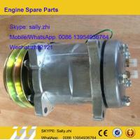 Buy cheap Air conditioner compressor assy SE5H14 , 4130000420, wheel loader  Spare parts for wheel loader LG936/LG956/LG958 from wholesalers