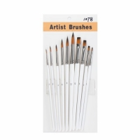 Buy cheap 140MM Golden doubel colors nylon hair Artist Paint Brushes Set from wholesalers