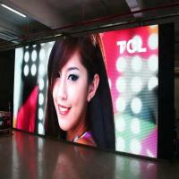 Buy cheap Indoor Full Color Stage Rental Led Display 3.91mm Pixel Clear Aluminium Cabinet from wholesalers