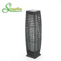 Buy cheap Pathway Decorative Rattan Solar Garden Lights LED Solar Panel Outside Waterproof from wholesalers