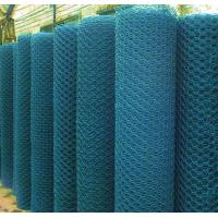 Buy cheap PVC Coated Hex Wire Mesh rectangular sheep wire fence 80*100mm from wholesalers