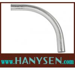Buy cheap 90 Degree Galvanized Steel Electrial Metallic Tubing Elbow / EMT Conduit Elbow from wholesalers