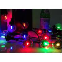 Buy cheap Low Voltage RGB LED String Lights Warm White 30cm Bulb Spacing For Home Garden from wholesalers