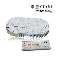 Buy cheap 200W LED Street Retrofit Kit Up to 27000LM for 600W HID Shoebox Lamp Replacement UL ETL from wholesalers