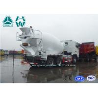 Buy cheap Sinotruk Hydraulic System Concrete Mixer Truck With Fan Heater Zz1257N3841W from wholesalers