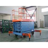 Buy cheap 10 Meters Extension Mobile hydraulic manlift with 450Kg Loading Capacity from wholesalers