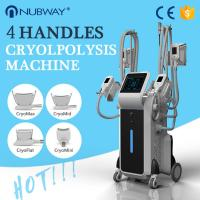 Buy cheap 2017 hot selling product stationary cryotherapy cool tech fat freezing body shaper slimming machine from wholesalers