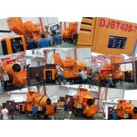 Buy cheap DJBT30 LOVOL Diesel Power Hydraulic Concrete Mixer with Pump 30 cubic meter per hour Capacity from wholesalers