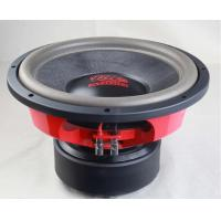 Buy cheap Professional Powered Car Audio Speakers  2 Ohms Impendance REDTextured from wholesalers