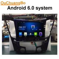 Buy cheap Ouchuangbo car audio gps USB for Hyundai Sonata 2012 support BDDR3 1GB 1080 Video android 6.0 OS from wholesalers