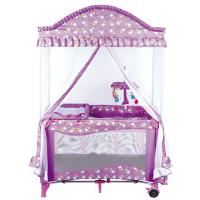 Buy cheap good quality fasion design baby playpen come with luxay mosquito net from wholesalers