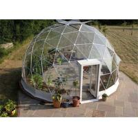 Buy cheap Advertising Clear Canvas Dome Tent Rainproof  20m Easy Clean 75kg / Sqm Snow Proof from wholesalers