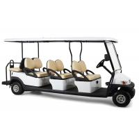 Buy cheap Rear Drum Brake 6 Passenger Electric Golf Cart With Foldable Windshield from wholesalers