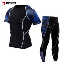 Buy cheap Quick Dry Plus Size Compression Tight Suit Sports Men Clothing from wholesalers