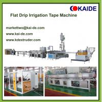 Buy cheap Flat Drip Irrigation Pipe Makin Machine China Highest  Speed from wholesalers