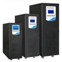 Buy cheap Custom White or black color Pure sine wave UPS system 1KVA to 20KVA , Overvoltage Protection from wholesalers