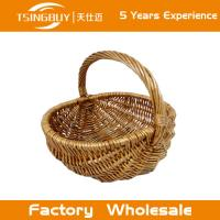 Buy cheap Factory wholesal 100% nature handcraft rattan wicker picnic basket-Food Save Natural Wicker Bread Basket from wholesalers