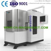Buy cheap DX2240R Diamond multi wire saw machine to make motor arc shape magnet from wholesalers