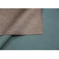 Buy cheap Viscose Backing Soft PU Leather , Durable Faux Leather Upholstery Fabric from wholesalers