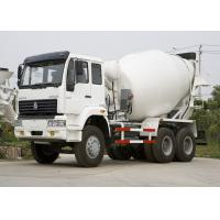 Buy cheap Large Ready Mix Concrete Trailer 290HP 6X4 Cement Mixing Truck , SGS from wholesalers