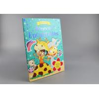 Buy cheap Blue Gold Foil Stamping Board Books For Toddlers , Cartoon Figure Kids Board Books from wholesalers