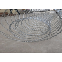 Buy cheap 45cm 16.5 Ga Double Razor Concertina Barbed Wire from wholesalers