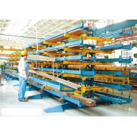 Buy cheap Steel Cantilever Racking System ,  300 - 1000kg Cantilever Lumber Racks from wholesalers