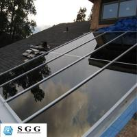 Buy cheap Skylight canopy stair handrail balcony balustrade architectural safety glass processing fa from wholesalers